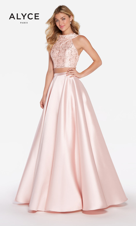 60063 (Rosewater) Prom                                             dress by Alyce Paris