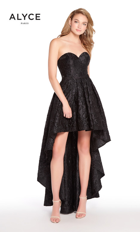 60083 (Black) Prom                                             dress by Alyce Paris