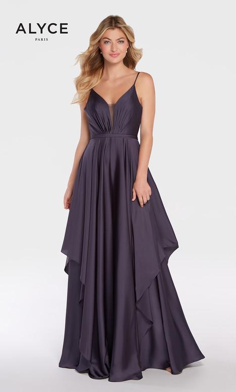 60091 (Slate) Prom                                             dress by Alyce Paris