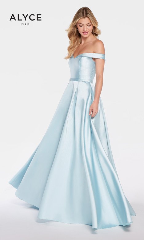60111 (Ice Blue) Prom dress by Alyce Paris