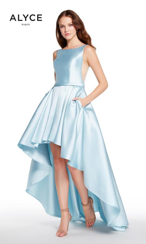 60114 (Ice Blue) Prom                                             dress by Alyce Paris