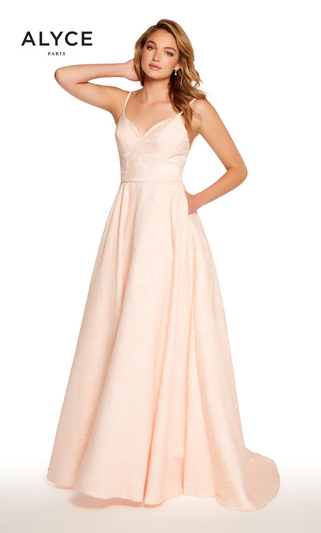 60122 (Light Coral) Prom                                             dress by Alyce Paris