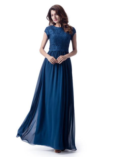 TM1799 Prom                                             dress by Venus Modest Maids