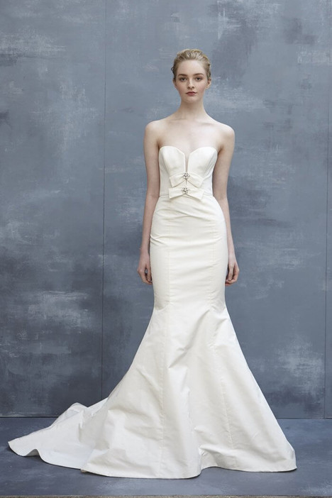 Hunter Wedding                                          dress by Amsale