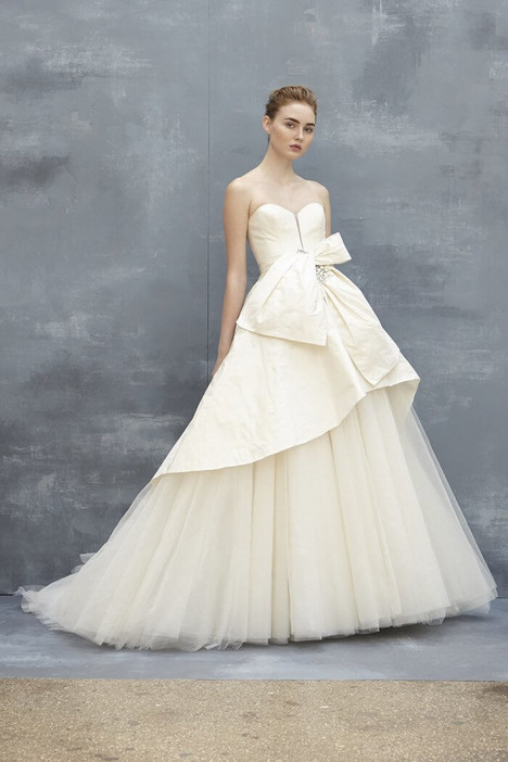 Pierce Wedding                                          dress by Amsale