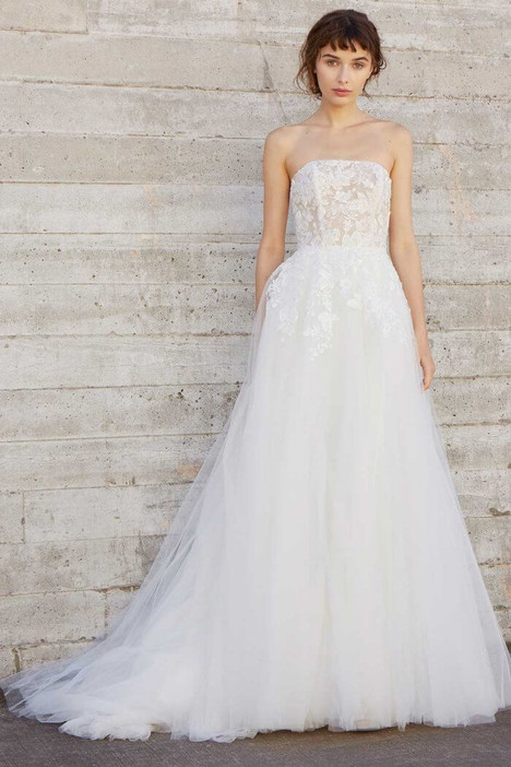Ellis Wedding                                          dress by Amsale Nouvelle