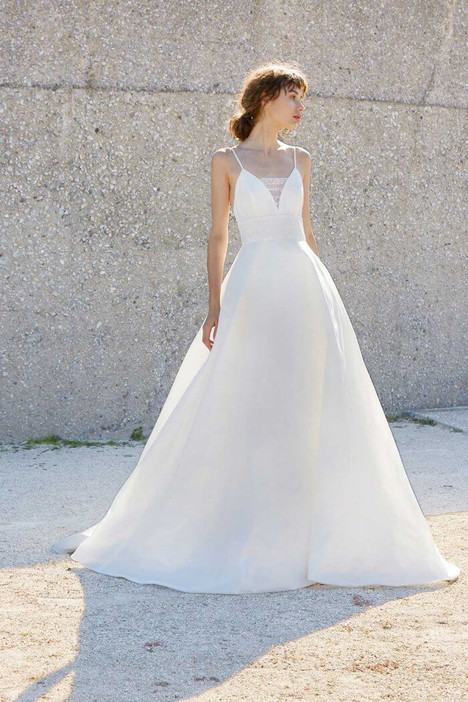 Esther Wedding                                          dress by Amsale Nouvelle