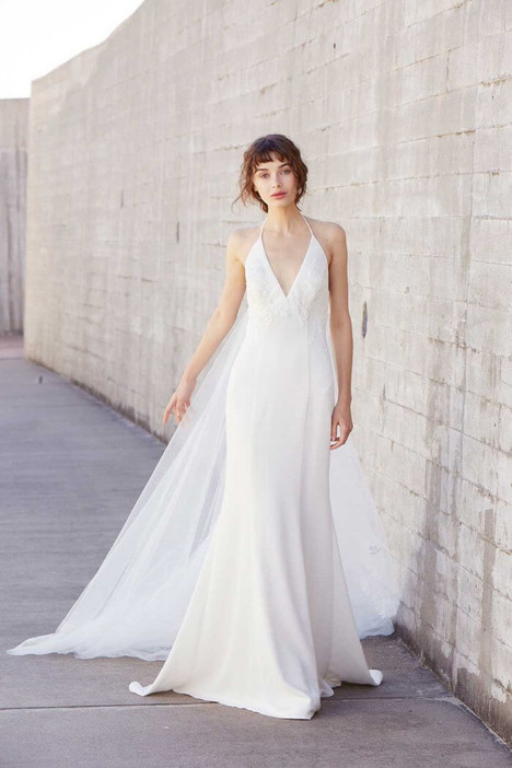 Olivia Wedding                                          dress by Amsale Nouvelle