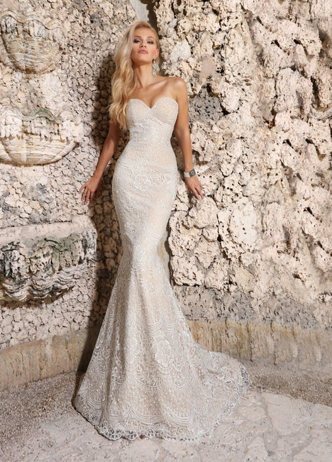 10563 Wedding                                          dress by Ashley & Justin Bride