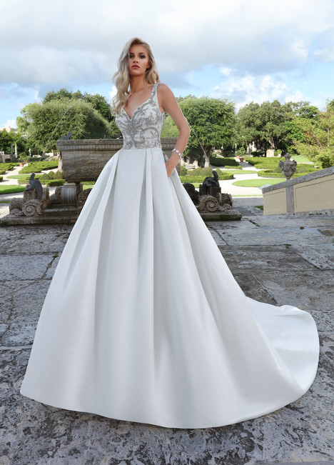 10574 Wedding                                          dress by Ashley & Justin Bride