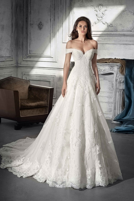 738 Wedding                                          dress by Demetrios Bride