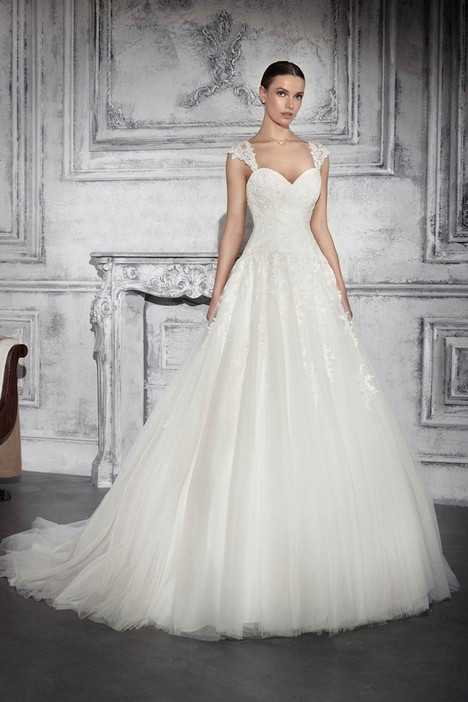 739 Wedding                                          dress by Demetrios Bride
