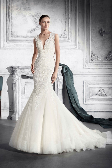 742 Wedding                                          dress by Demetrios Bride