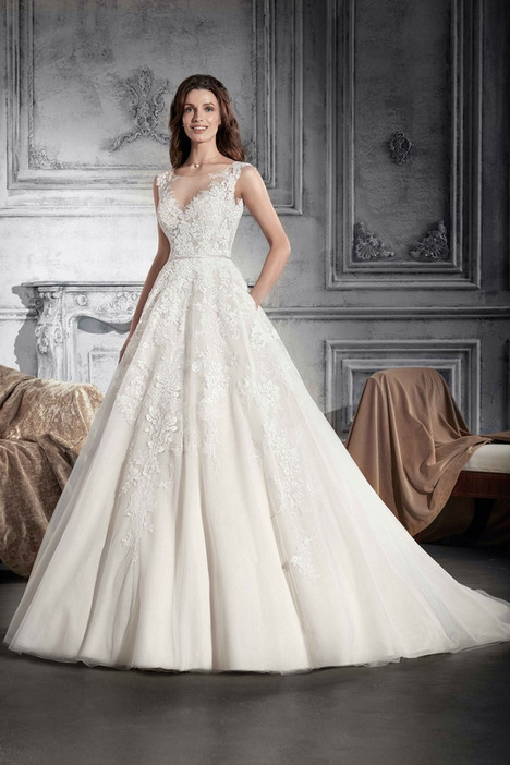 745 Wedding                                          dress by Demetrios Bride