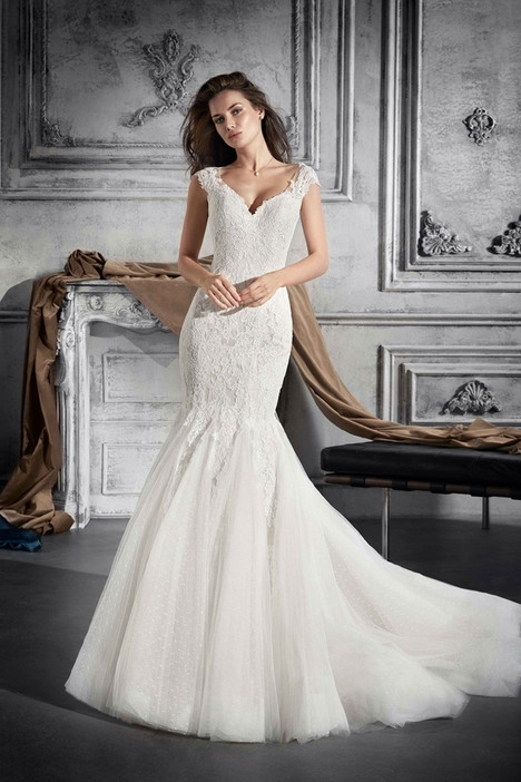 748 Wedding                                          dress by Demetrios Bride