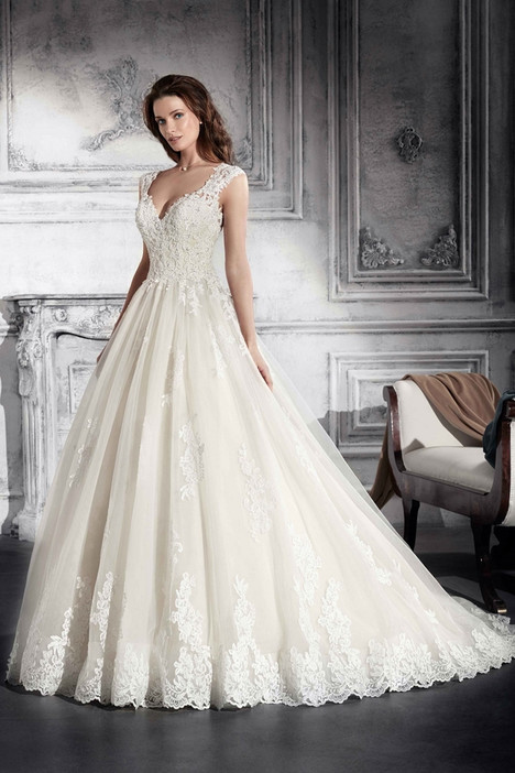751 Wedding                                          dress by Demetrios Bride