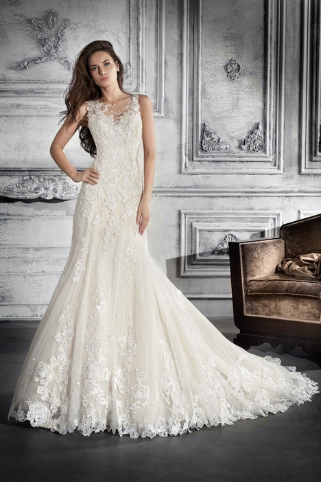 753 Wedding                                          dress by Demetrios Bride
