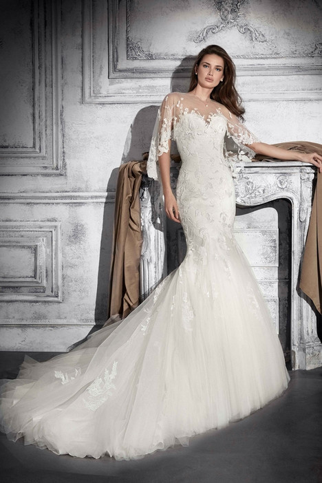 755 Wedding                                          dress by Demetrios Bride