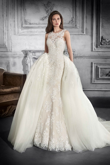 757 Wedding                                          dress by Demetrios Bride