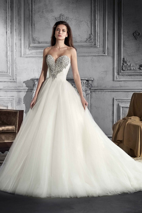 759 Wedding                                          dress by Demetrios Bride