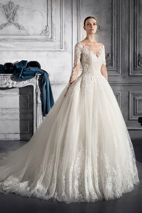 760 Wedding                                          dress by Demetrios Bride