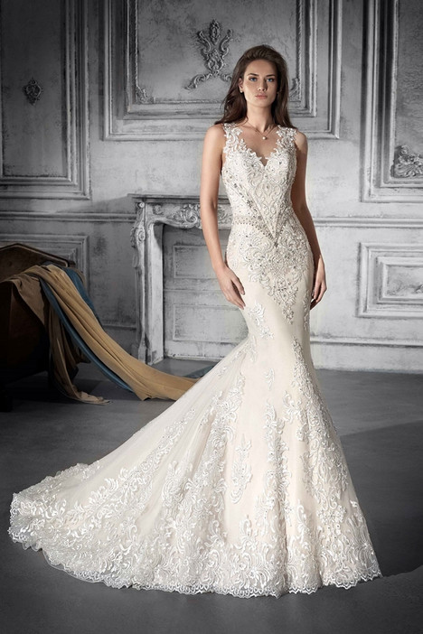 761 Wedding                                          dress by Demetrios Bride