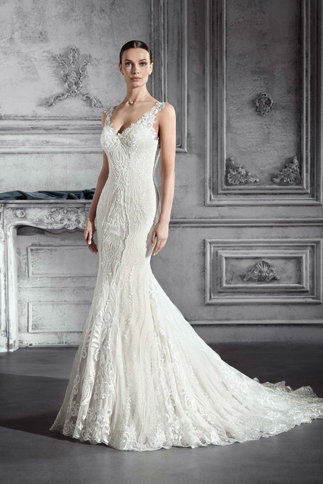 764 Wedding                                          dress by Demetrios Bride