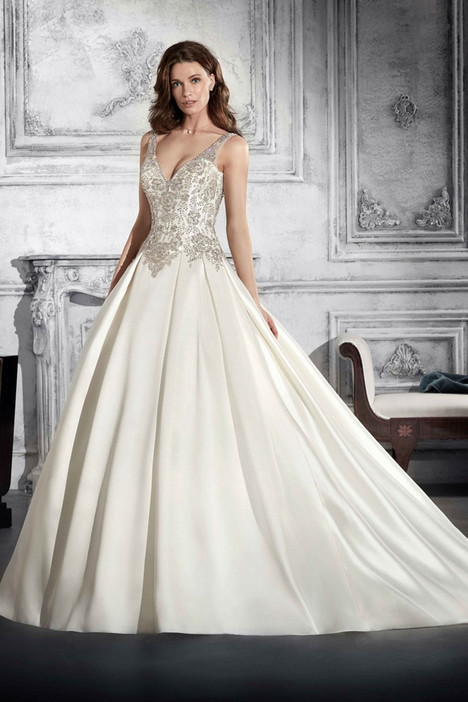 765 Wedding                                          dress by Demetrios Bride