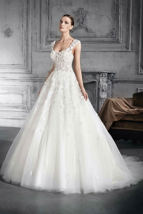 767 Wedding                                          dress by Demetrios Bride