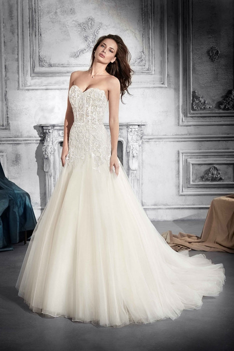 768 Wedding                                          dress by Demetrios Bride