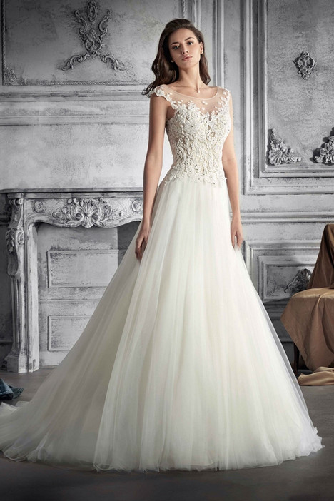 770 Wedding                                          dress by Demetrios Bride