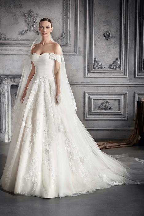 771 Wedding                                          dress by Demetrios Bride