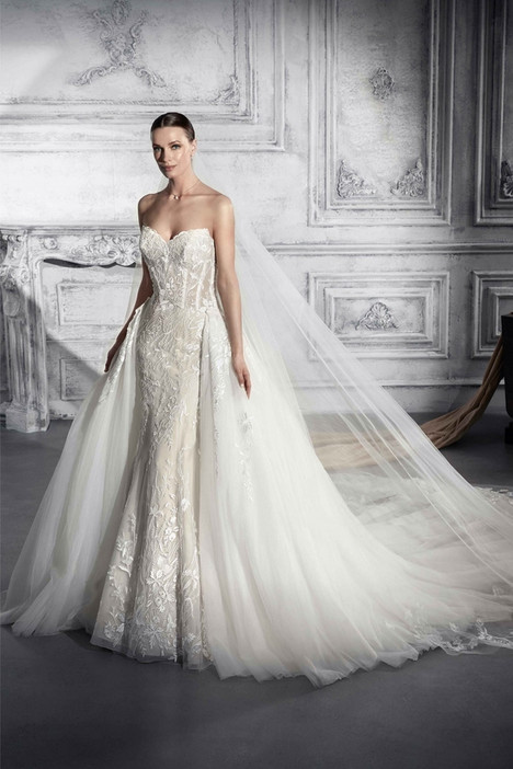 773 Wedding                                          dress by Demetrios Bride