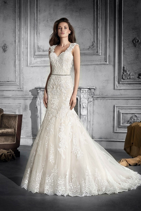 775 Wedding                                          dress by Demetrios Bride