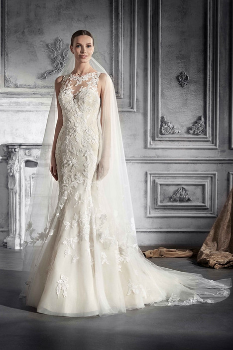776 Wedding                                          dress by Demetrios Bride