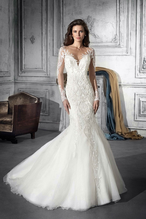 777 Wedding                                          dress by Demetrios Bride