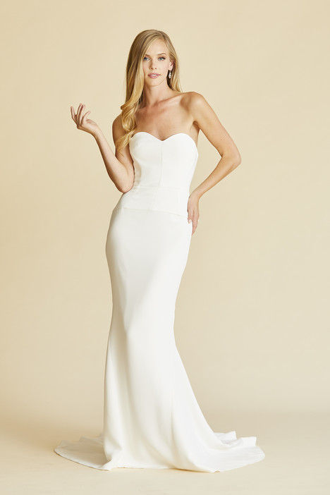 Greta Crepe Wedding                                          dress by Amy Kuschel