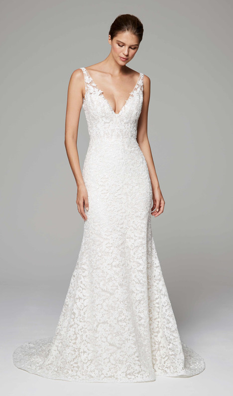 Aubrey Wedding                                          dress by Anne Barge
