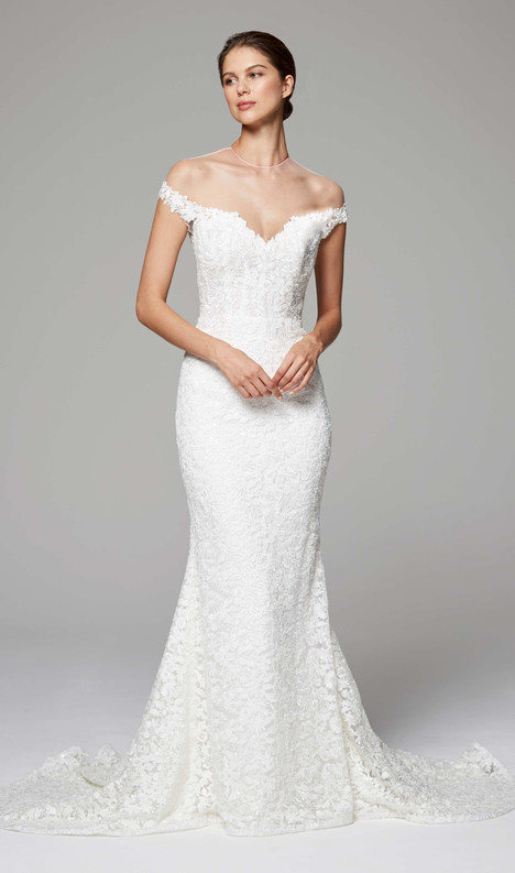 Nicolette Wedding                                          dress by Anne Barge