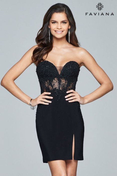 S8074 gown from the 2018 Faviana Prom collection, as seen on dressfinder.ca