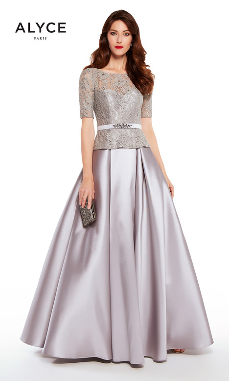 27231 (Storm Grey) Mother of the Bride                              dress by Alyce Paris: JDL Collection