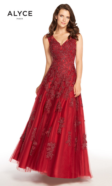 27235 (Wine) Mother of the Bride                              dress by Alyce Paris: JDL Collection