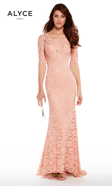 27241 (Dusty Rose) gown from the 2018 Alyce Paris: JDL Collection collection, as seen on dressfinder.ca