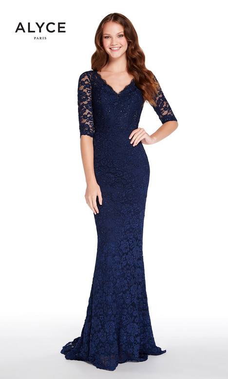27241 (Midnight Blue) gown from the 2018 Alyce Paris: JDL Collection collection, as seen on dressfinder.ca