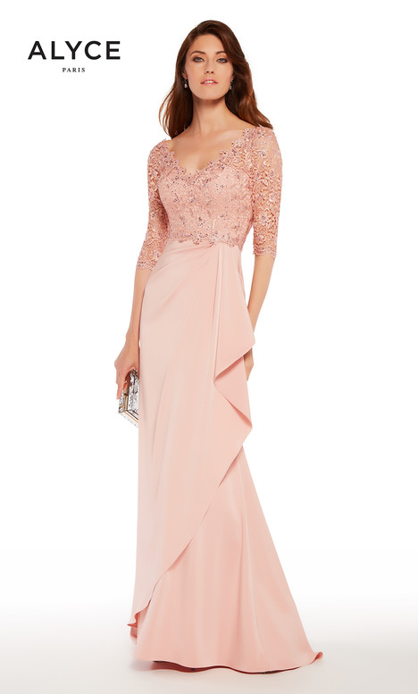 27242 (Pink) Mother of the Bride                              dress by Alyce Paris : Mother of the Bride