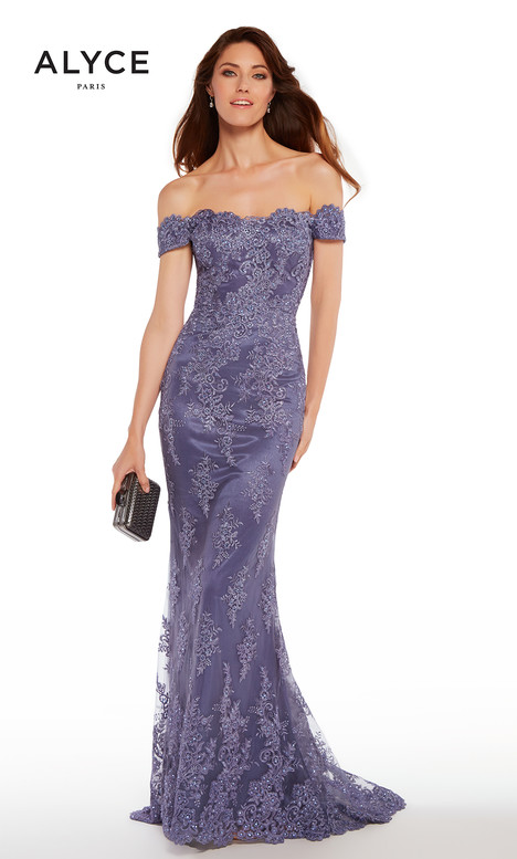 27249 (Dusty Purple) gown from the 2018 Alyce Paris: JDL Collection collection, as seen on dressfinder.ca