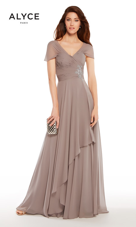 27250 (Smoke) Mother of the Bride                              dress by Alyce Paris : Mother of the Bride