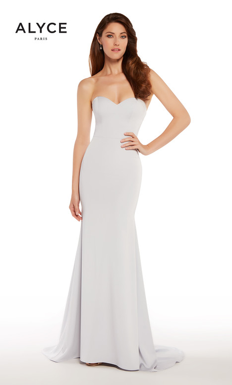 27252 (Silver) gown from the 2018 Alyce Paris: JDL Collection collection, as seen on dressfinder.ca