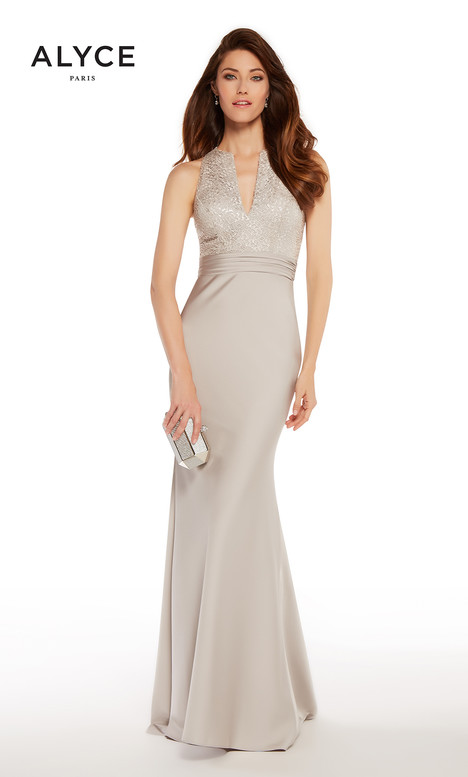 27253 (Silver) Mother of the Bride dress by Alyce Paris: JDL Collection