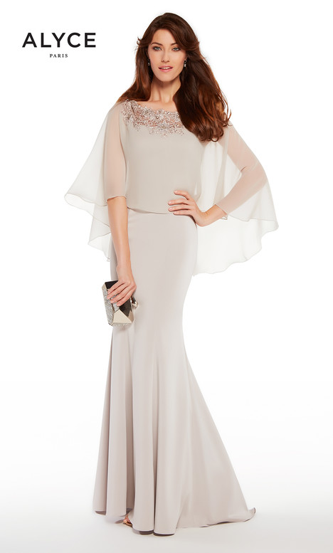 27255 (Beige) Mother of the Bride                              dress by Alyce Paris : Mother of the Bride
